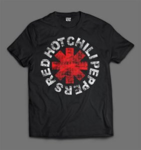 Camiseta - Red Hot Chili Peppers
