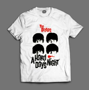 Camiseta - The Beatles - A Hard Days Night