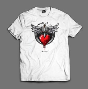 Camiseta - Bon Jovi - Thirty
