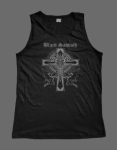 Regata Masculina - Black Sabbath - Cross