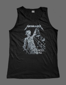 Regata Masculina - Metallica - And Justice for All