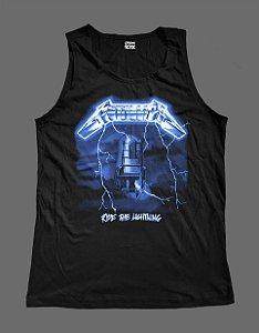 Regata Masculina - Metallica - Ride the Lightning