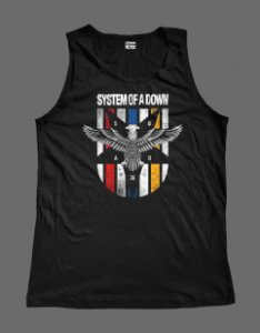 Regata Masculina - System of a Down - Eagle