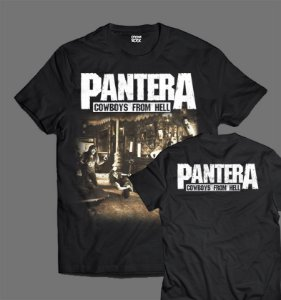 Camiseta - Pantera - Cowboys from Hell