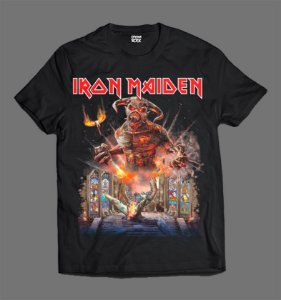 Camiseta - Iron Maiden - Legacy of Tour