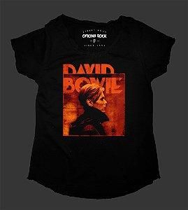 Camiseta - Bata Feminina - David Bowie