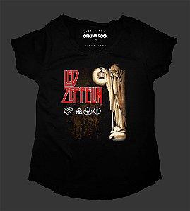 Camiseta - Bata Feminina - Led Zeppelin - Hermit