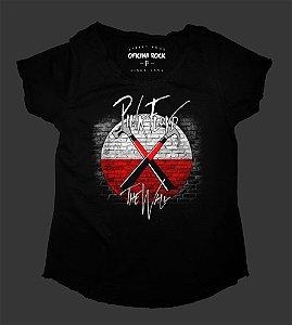 Camiseta - Bata Feminina - Pink Floyd - The Wall