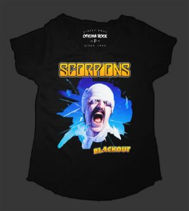 Camiseta - Bata Feminina - Scorpions