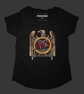Camiseta - Bata Feminina - Slayer