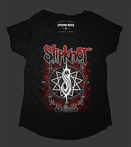 Camiseta - Bata Feminina - Slipknot