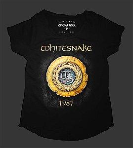 Camiseta - Bata Feminina - Whitesnake