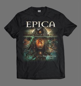 Camiseta - Epica - The Quantum Enigma