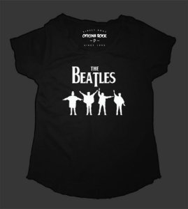 Camiseta - Bata Feminina - Beatles