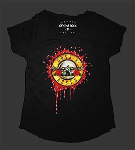 Camiseta - Bata Feminina - Guns n Roses