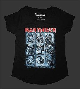 Camiseta - Bata - Feminina - Iron Maiden - Eddies