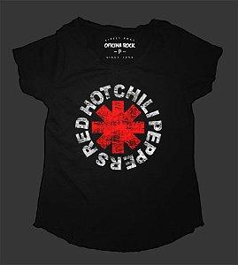 Camiseta - Bata Feminina - Red Hot Chili Peppers