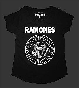 Camiseta - Bata Feminina - Ramones