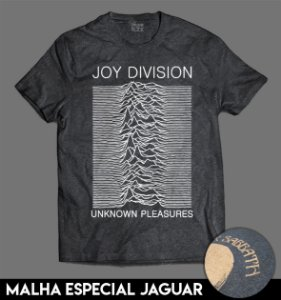 Camiseta Especial - Joy Division - Unknown Pleasures