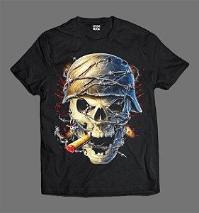 Camiseta - Skull Cigar