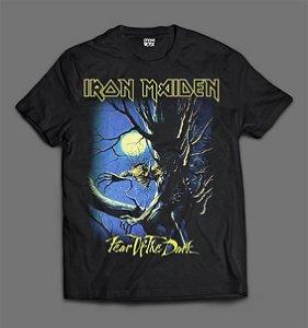 Camiseta - Iron Maiden - Fear of The Dark.