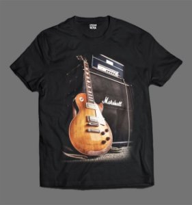 Camiseta - Guitar and Amp