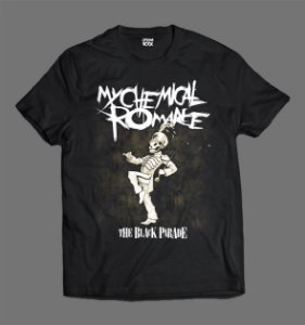 Camiseta - My Chemical Romance - The Black Parade