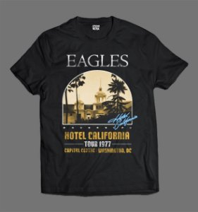Camiseta - Eagles - Hotel California
