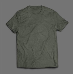 Camiseta Lisa -  Verde Musgo/Militar