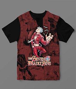 Camiseta - Nanatsu no Taizai - Sete Pecados - Ban