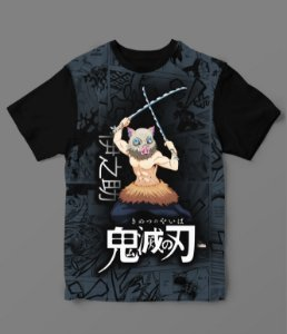 Camiseta - Demon Slayer - Inosuke