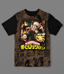 Camiseta - My Hero Academia - Bakugou