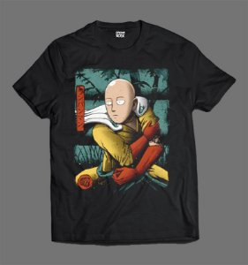 Camiseta - One Punch Man - Saitama