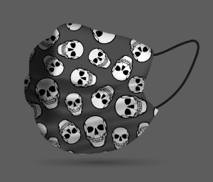 Máscara de Proteção - Caveira Pattern