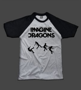 Camiseta - Imagine Dragons - Raglan