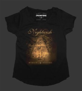 Camiseta - Bata Feminina - Nightwish Human Nature