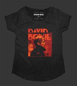 Camiseta - Bata Feminina Especial - David Bowie