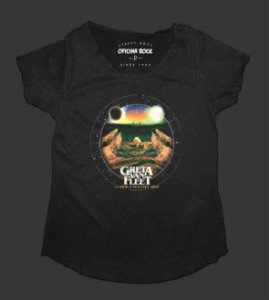 Camiseta - Bata Feminina Especial - Greta Van Fleet