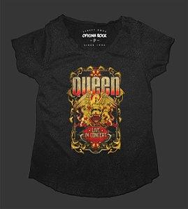 Camiseta - Bata Feminina Especial - Queen