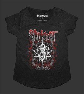 Camiseta - Bata Feminina Especial - Slipknot