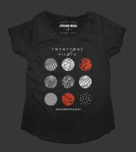 Camiseta - Bata Feminina Especial - Twenty One Pilots