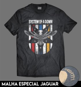 Camiseta Especial - System of a Down Eagle