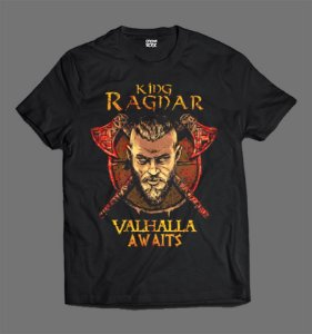 Camiseta - Vikings - Ragnar Lothbrok