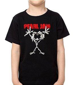 Camiseta - Infantil - Pearl Jam