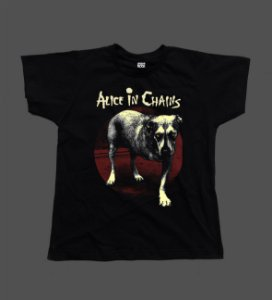 Camiseta - Babylook - Alice in Chains