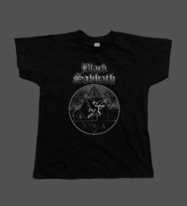 Camiseta - Babylook - Black Sabbath Tour