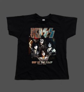 Camiseta - Babylook - Kiss - End of The Road