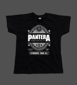 Camiseta - Babylook - Pantera - Cowboys From Hell