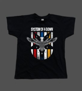 Camiseta - Babylook - System of a Down - Eagle