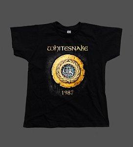 Camiseta - Babylook - Whitesnake